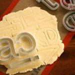 Helvetica Cookie Cutters