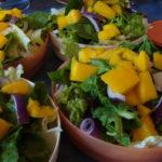 Ensalada Mango-Pepita-Limón
