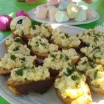 Huevo-tartines (y mayonesa hecha en casa)
