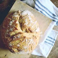 pan, pan de olla, harina, hornear, sourdough, artesanal, en casa, pizza